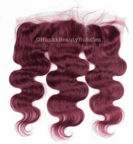 Body Wave Dark Coloured Frontal