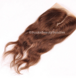 Body Wave Dark Coloured Closure