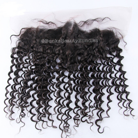 Deep/Kinky/Jerry Curly Frontal (Premium Plus)
