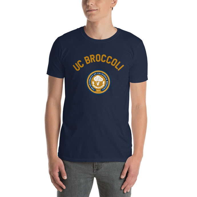 UC Broccoli Seal Short-Sleeve Unisex T-Shirt