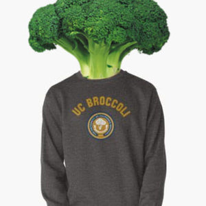 UC Broccoli Collegiate Sweatshirt - Dark Grey