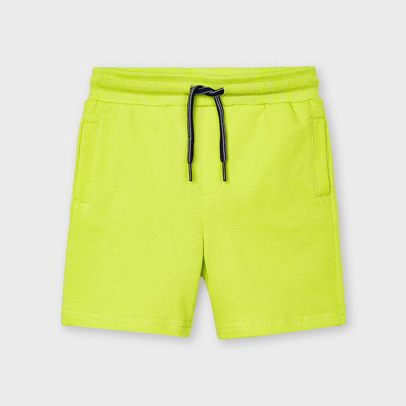 Mayoral Boys Basic Lemongrass Jogger Shorts - 611