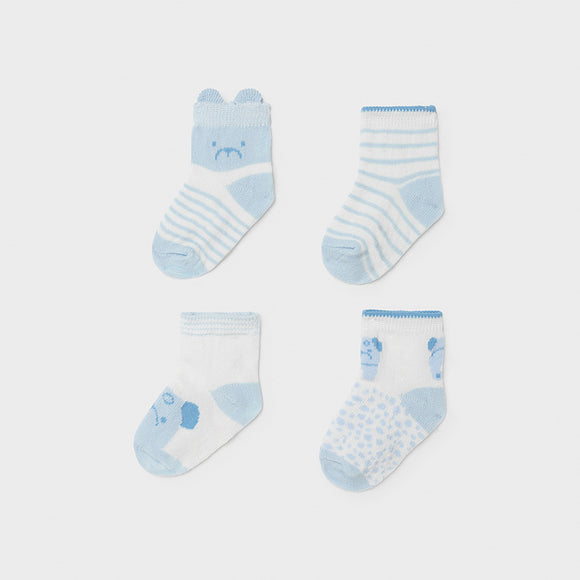 Mayoral Blue Baby Boys Sock Set