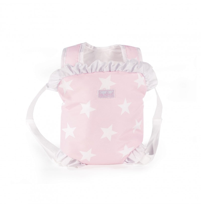 La Nina Carlota Pink & White Dolls Carrier