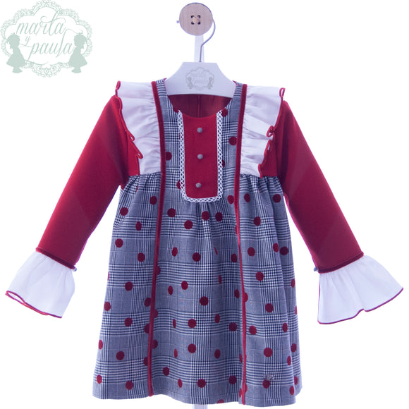 SALE Marta Y Paula Jilguero Girls Dress - 5163