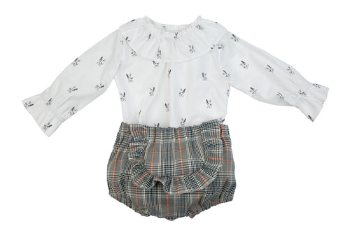 SALE Rochy Gales Baby Girls Jam Pant Set - C06084