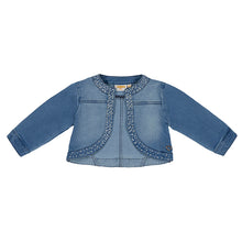 SS19 UBS2 Girls Studded Denim Bolero Jacket