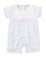 Kissy Kissy Touch of Elegance Blue Shortie Romper