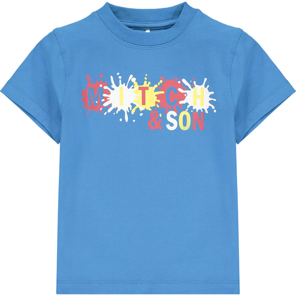 Mitch & Son Castle Paint Splash T-Shirt