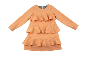 Rochy Gales Peach Dress - T06081