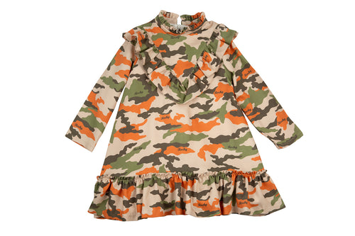 AW19 Rochy Camuflage Dress - T06131