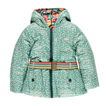 AW19 Boboli Girls Winter Fruits Reversible Coat - 9159