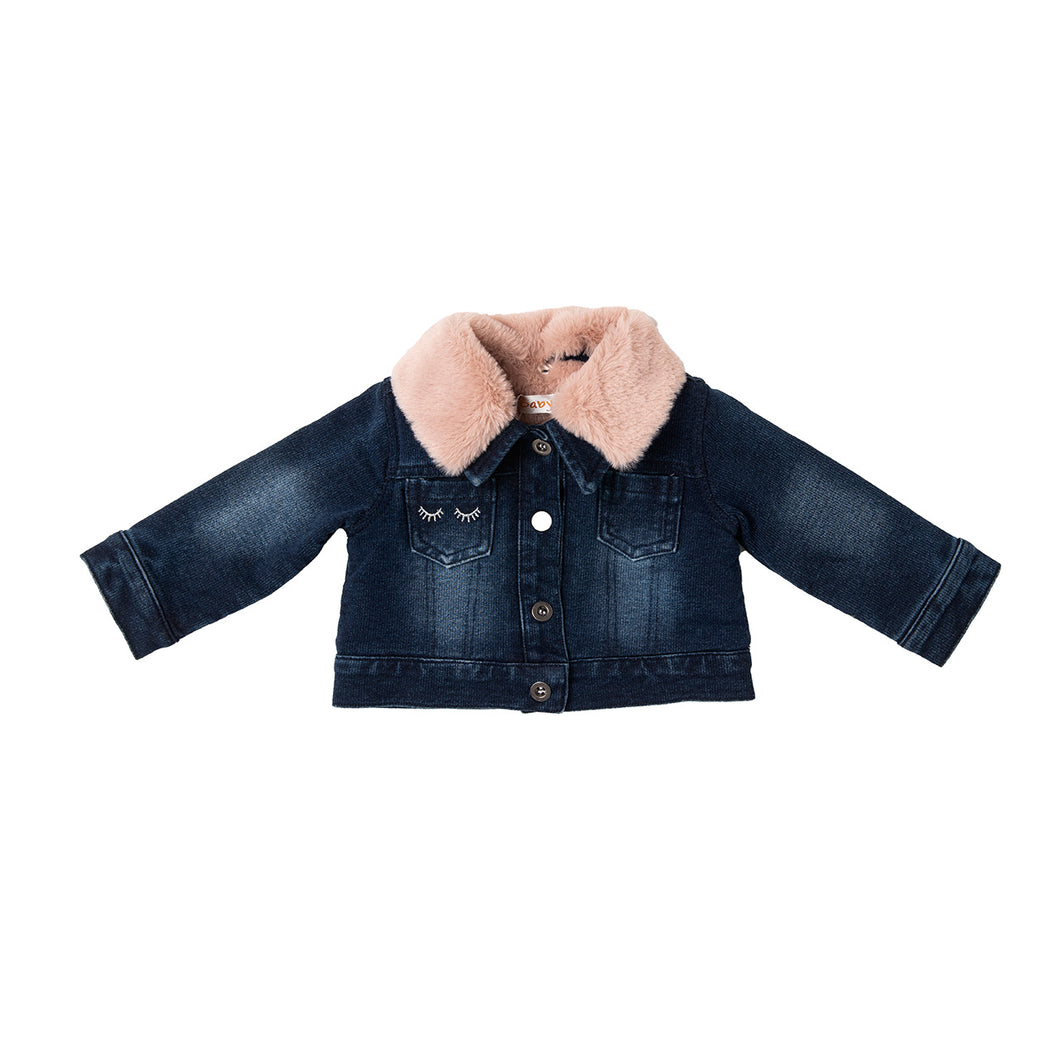AW20 Babybol Denim & Faux Fur Jacket