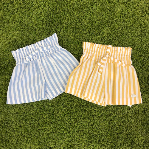 SALE Jose Varon Candy Stripe Girls Shorts