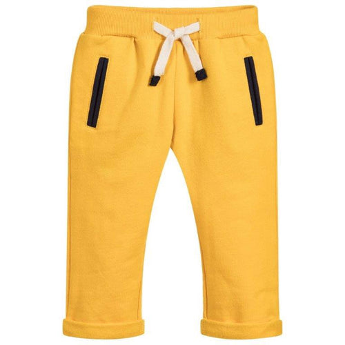 AW19 Week-end a la Mer Yellow Cotton Joggers