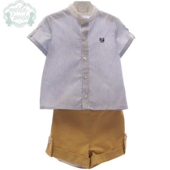 Marta Y Paula Baby Boys Short Set