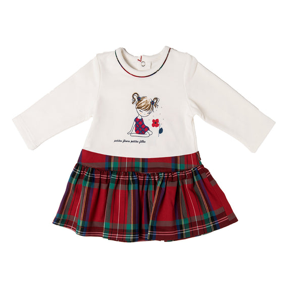 AW20 Babybol Tartan Dress