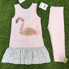 Elisabeth Puig Flamingo Dress & Leggings