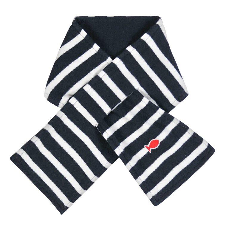 AW19 Week-end a la Mer Navy Stripe Scarf