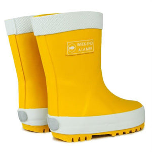 AW19 Week-end a la Mer Yellow Rain Boots