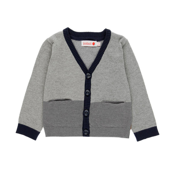 SALE Boboli Gstaad Boys Trouser Set with Cardigan