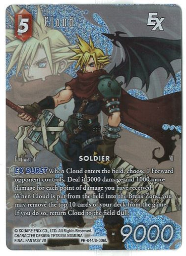 Final Fantasy TCG: Cloud EX - PR-044 8-006L