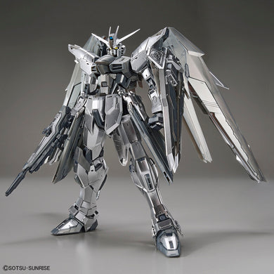 Pre-Order Gundam Base Limited MG Freedom Gundam Ver 2.0 [Silver Coating]