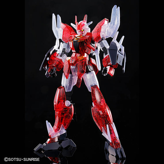 Gundam Base HGBD:R Core Gundam (Real Type Color) & Mars for Unit [Dive into Dimension Clear]