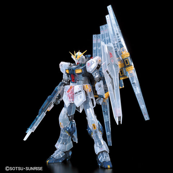 Pre-Order Gundam Base RG RX-93 Nu Gundam [Clear Color]