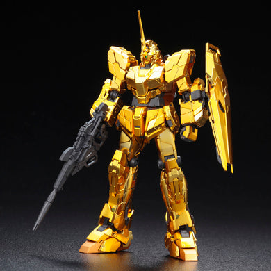 Gundam Base Limited RG Unicorn Gundam [Gold Coating]