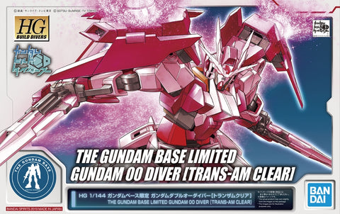 Gundam Base Limited Gundam 00 Diver [Trans-Am Clear]