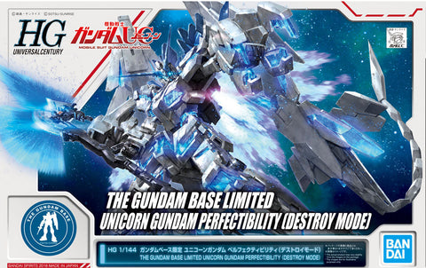 HG 1/144 Gundam Base Limited Unicorn Gundam Perfectibility [Destroy Mode] - Special