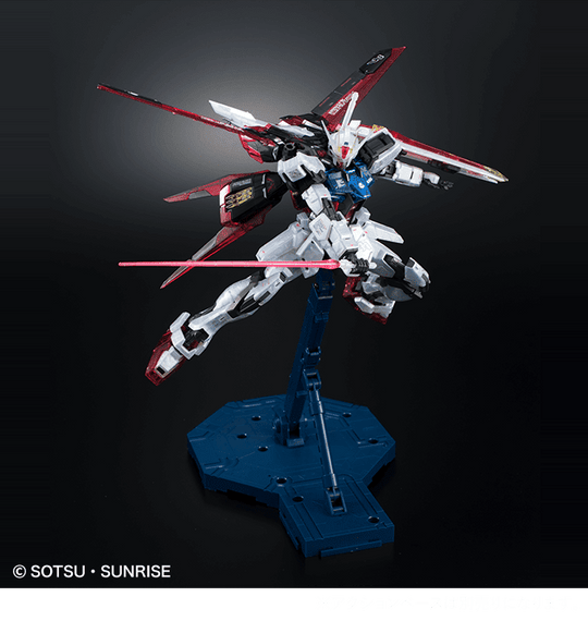 Gundam Base Limited MG Aile Strike Gundam Ver RM [Clear Color]