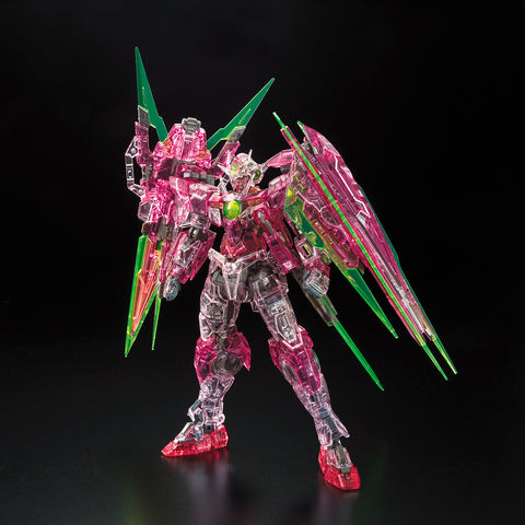 Pre-Order Gundam Base RG 00 Qan[T] Full Saber (Trans-Am Clear)