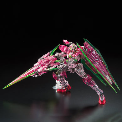 Gundam Base RG 00 Qan[T] Full Saber (Trans-Am Clear)