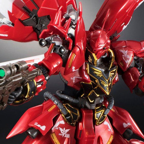 Pre-Order RG 1/144 Gundam Base Limited Sinanju (Metallic Gloss Injection) Set