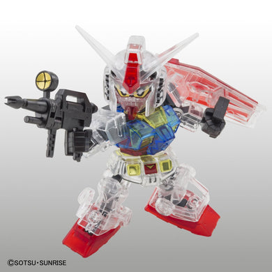 Gundam Base SDCS RX-78-2 Gundam [Clear Color]