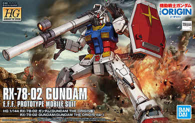 HG RX-78-02 Gundam The Origin Ver