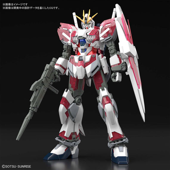 "HGUC Narrative Gundam C-Packs ""Gundam NT"""