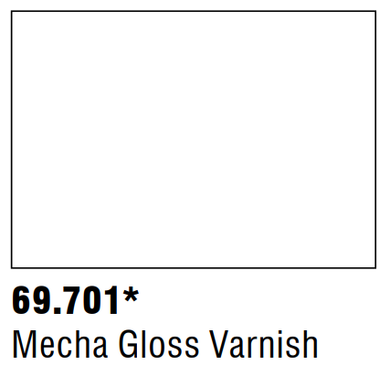 Vallejo Mecha Auxiliaries 69.701 - Mecha Gloss Varnish