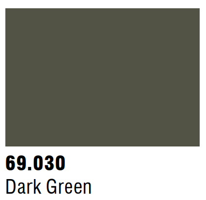 Vallejo Mecha Color 69.030 - Dark Green