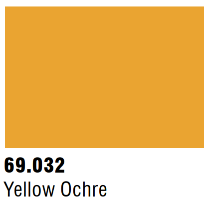 Vallejo Mecha Color 69.032 - Yellow Ochre