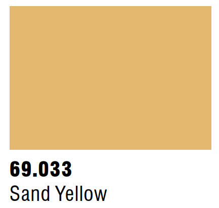 Vallejo Mecha Color 69.033 - Sand Yellow