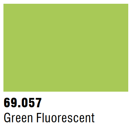 Vallejo Mecha Fluorescent 69.057 - Green Fluorescent