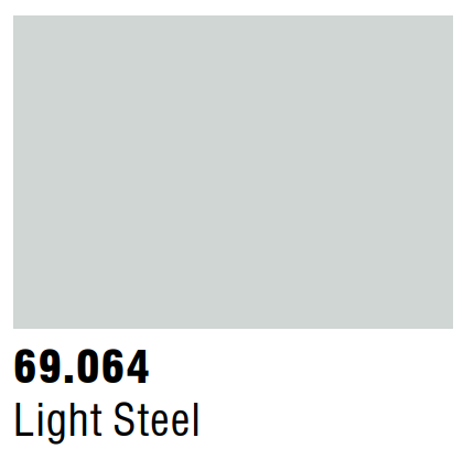 Vallejo Mecha Metallic 69.064 - Light Steel