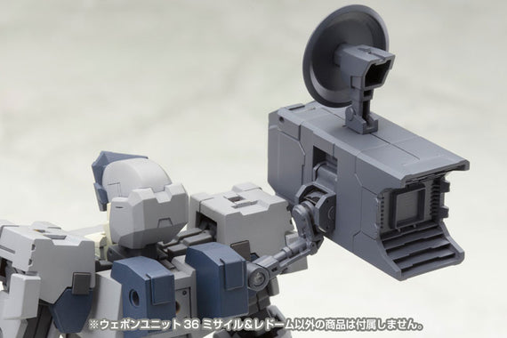 M.S.G Modeling Support Goods - Weapon Unit 36 Missile & Radome