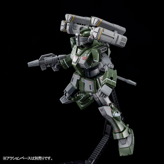 (P-Bandai) HG RGM-79SC GM Sniper Custom [with Missile Launcher]
