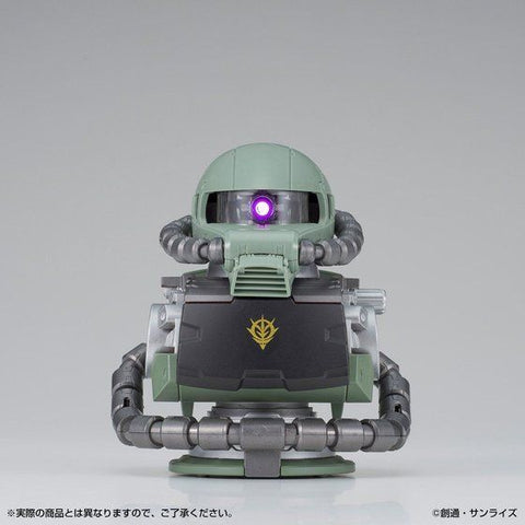 Pre-Order EXCEED MODEL ZAKU HEAD Lighting & Sound Bust Set Mass Production Type Zaku II