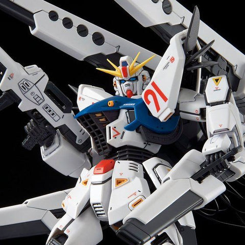 Pre-Order (P-Bandai) MG F91 Ver 2.0 Back Cannon Mounted Type & Twin Vespa Mounted Type Set