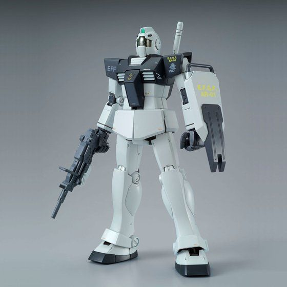 (P-Bandai) MG RGM-79 GM (White Dingo Colors)
